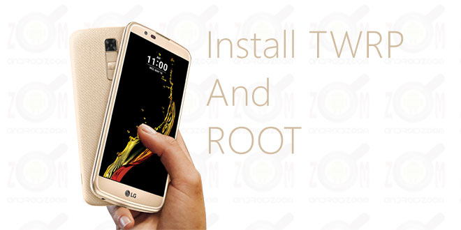 install twrp and root