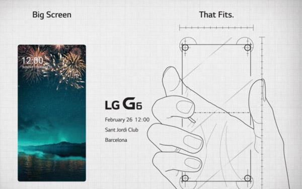 صفحه نمایش بزرگ در G6