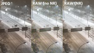 Disadvantages of the RAW format