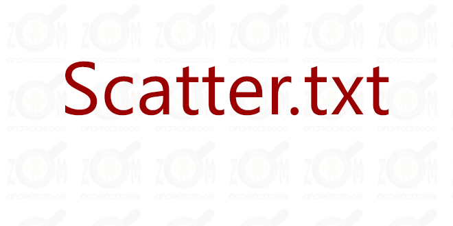 How to create scatter file for any ROM using MTK droid tools