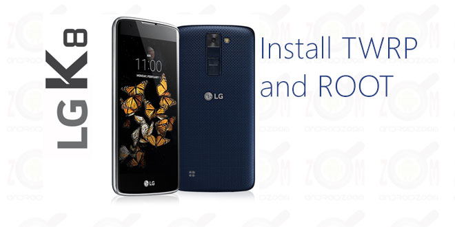 How To install twrp Recovery And Root LG K8