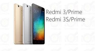 MIUI ROM for Redmi 3-S-Prime