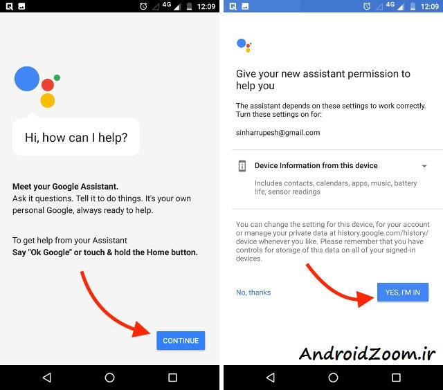 continue-google-assistant-set-up