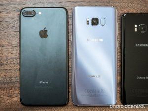 Galaxy S8 vs. iPhone 7 Comparison