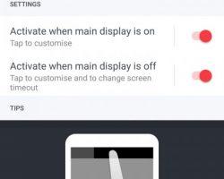 HTC U Ultra Display Settings