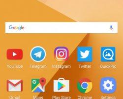 Galaxy C9 Pro UI