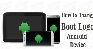 how to change boot logo android device