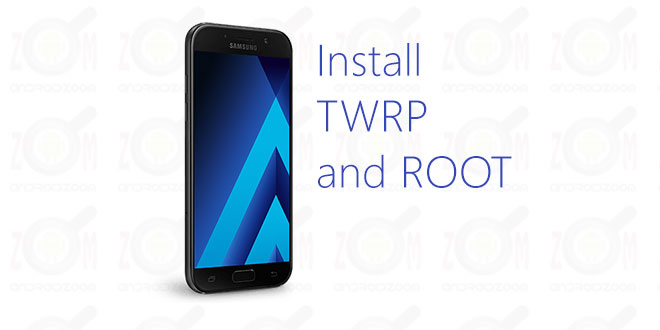 install custom recovery and root galaxy a5 2017