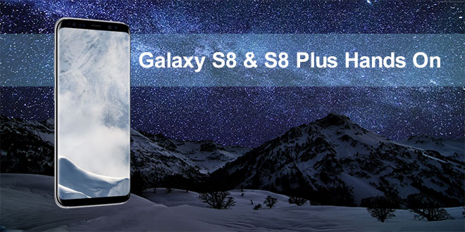 s8 hands on