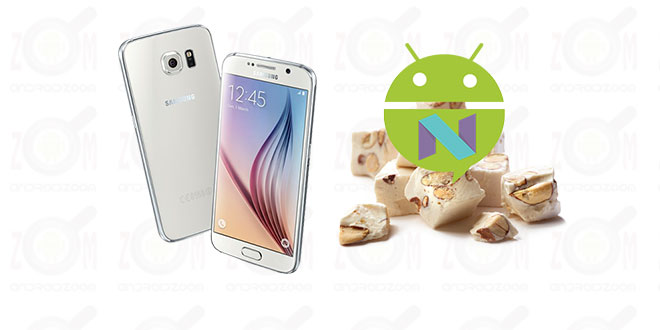 Update Galaxy S6 to Android 7.1.1 Nougat ROM