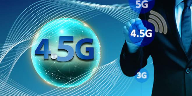 نسل اینترنت 4.5G