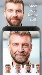 پیر کردن عکس با FaceApp