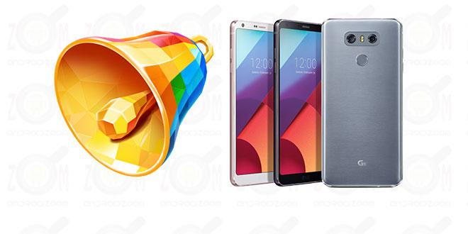 LG G6 Ringtones