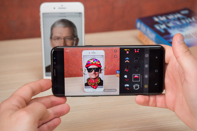 Apple iPhone 7 Plus vs Samsung Galaxy S8 Plus Camera