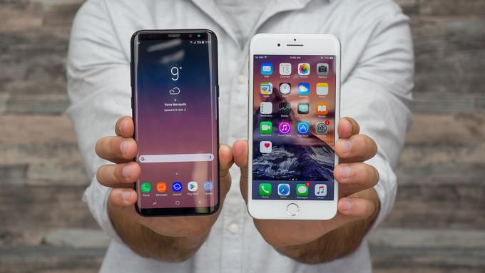 Apple iPhone 7 Plus vs Samsung Galaxy S8 Plus