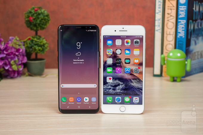 Apple iPhone 7 Plus vs Samsung Galaxy S8 Plus Software