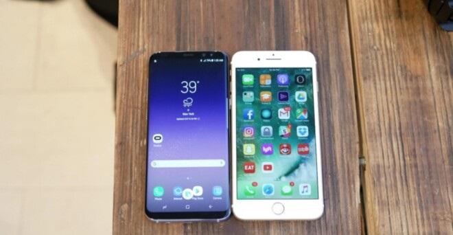 Apple iPhone 7 Plus vs Samsung Galaxy S8 Plus Sound