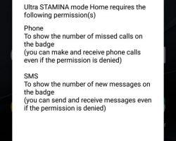 Sony Xperia XZs Battery Settings
