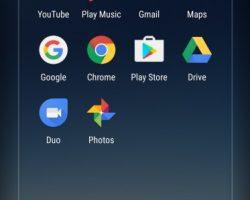 Samsung Galaxy S8 UI
