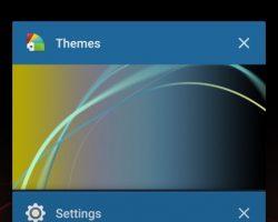 Sony Xperia XZs UI