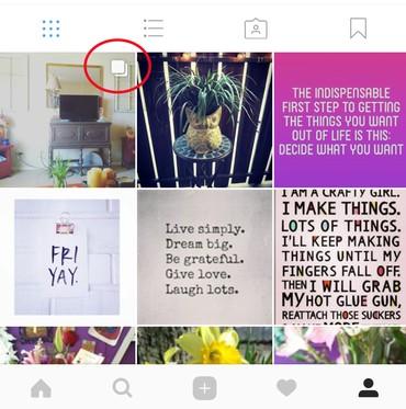 چگونه در یک پست اینستاگرام چند عکس یا فیلم را اشتراک بگذاریم؟