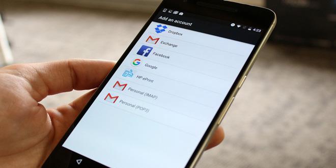 اضافه کردن اکانت گوگل به گوشی اندرویدی