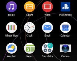 XZ Premium User Interface