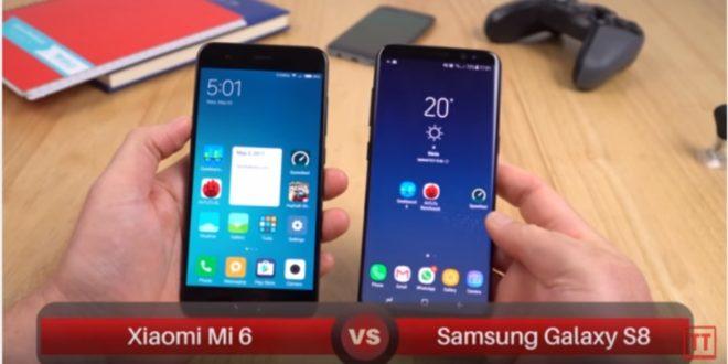 Mi 6 vs s8