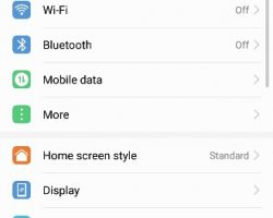 Huawei P10 Lite Software and UI
