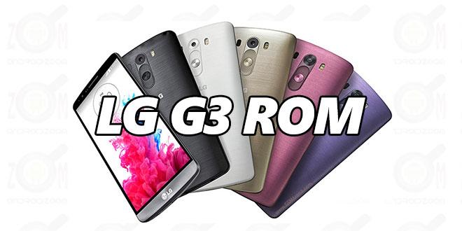 LG G3 ROMs