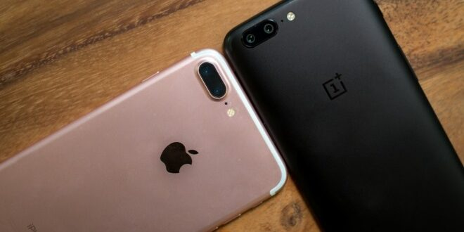 i7 plus vs OnePlus 5