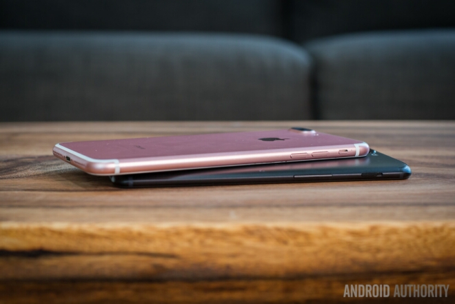 جمع بندی OnePlus 5 و Apple iPhone 7 Plus