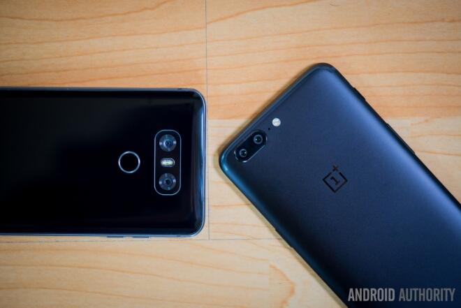 OnePlus 5 و LG G6