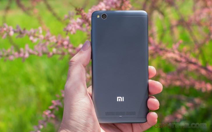 Xiaomi Redmi 4a Design