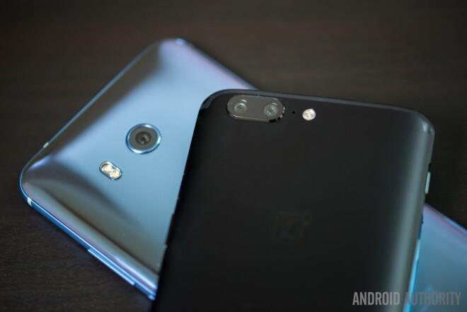 OnePlus 5 vs HTC U11