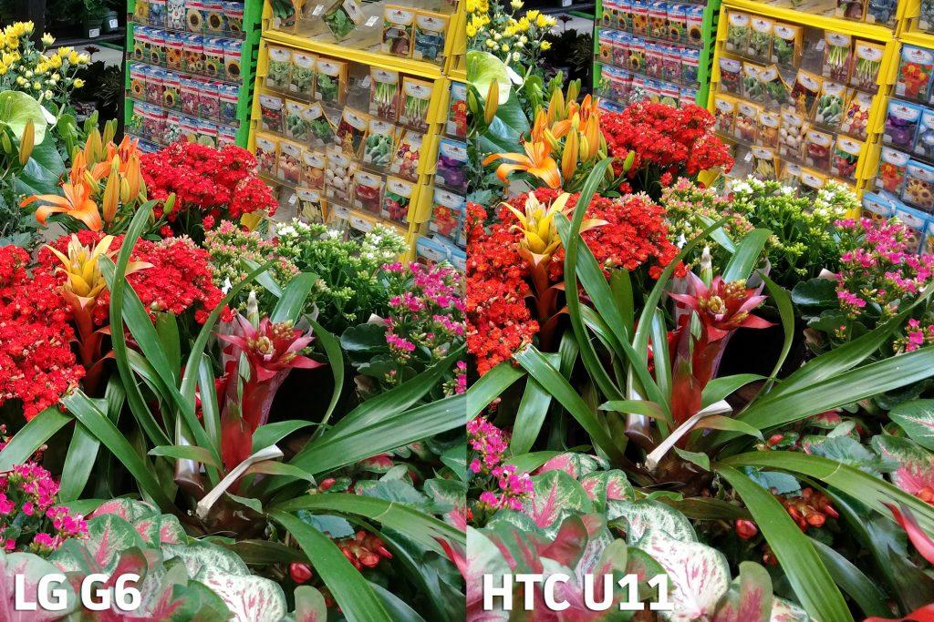 مقایسه ی دوربین های HTC U11 و LG G6
