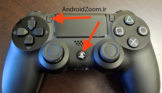 connect ps4 controller to android device