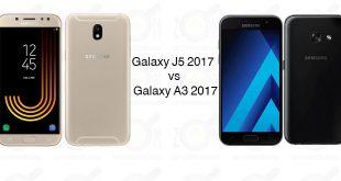 Galaxy J5 2017 و Galaxy A3 2017