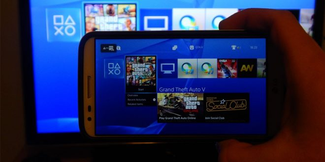 play ps4 games on android device