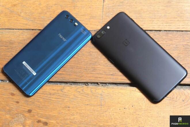 Honor 9 vs. OnePlus 5