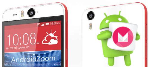 رام رسمی HTC Desire Eye اندروید 6 سنس 7