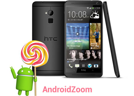 HTC One Max Android 5.0 Lollipop
