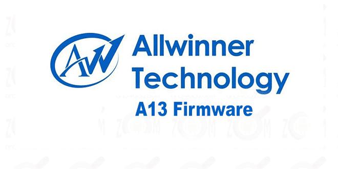 allwinner technology a13-firmware