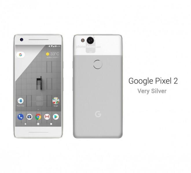 تصاویر و رندرهای گوشی گوگل Pixel 2 فاش شد