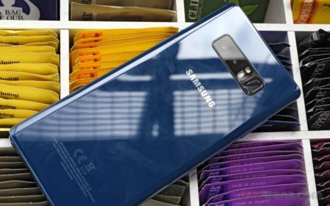 دوربین Galaxy Note 8