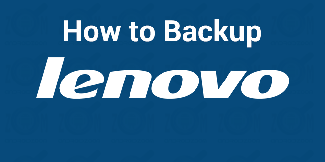 how to backup lenovo android devices