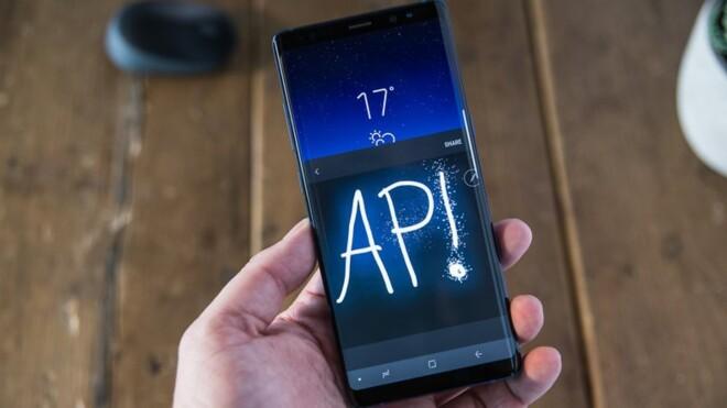 نرم افزار بکارگیری شده در Galaxy Note 8