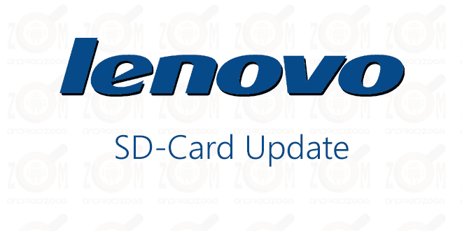 lenovo SD-Card Update