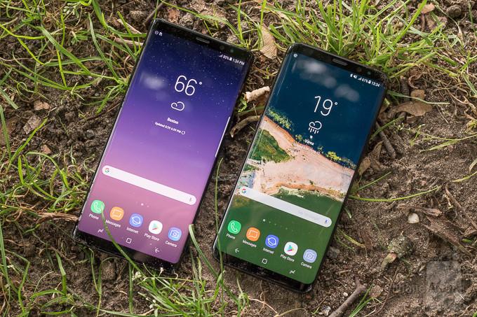 Galaxy S8 Plus و Galaxy Note 8