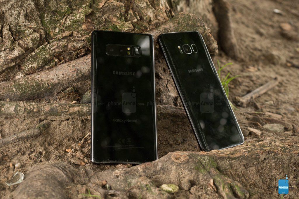 سخت افزار Galaxy S8 Plus و Galaxy Note 8